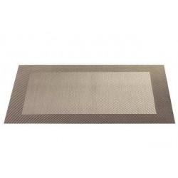 Placemat vinyl 33*46 cm bronze