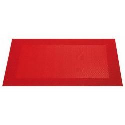Placemat vinyl 33*46 cm rosu