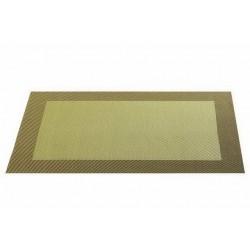 Placemat vinyl 33*46 cm olive