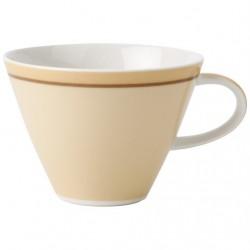 Ceasca cappuccino cu farfurie Caffe club Uni Vanille, cod 207479/207462