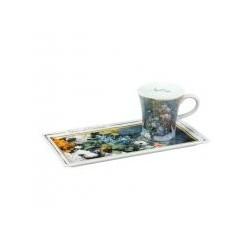 Ceasca espresso cu farfurie Spring Flowers-284773