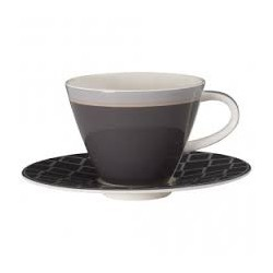 Ceasca cafea cu farfurie Caffe Club Uni Steam, cod 176188/176171