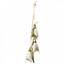 Decoratiune flower bells trio snowdrop