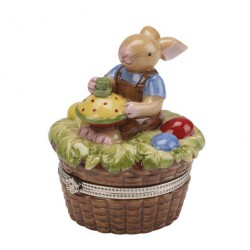 Decoratiune Spring Decoration, Treat egg basket boy