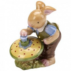 Decoratiune Bunny boy with spinning top