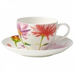 Ceasca cafea cu farfurie Anmut flowers-238022