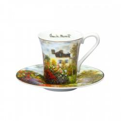 Ceasca espresso cu farfurie The Artist House