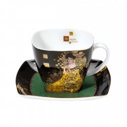 Ceasca cafea cu farfurie Adele Bloch