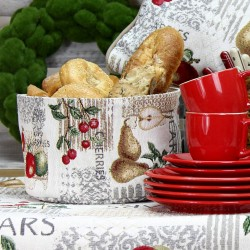 Cosulet pentru paine gobelin Apples&Pears 15x23