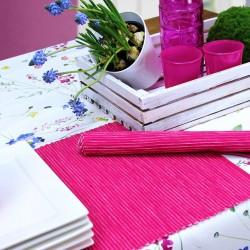 Placemat individual bumbac Breeze pink 35x50