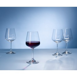 Set 4 pahare vin rosu Ovid