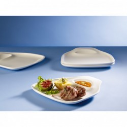 Set passion barbeque steak plate, 4 piese