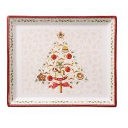 Platou prajituri dreptunghiular small Winter bakery delight-289079