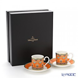 Samarkand mandarin- set espresso 4 pcs