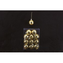Set mini globuri aurii