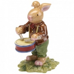 Decoratiune Bunny with drum- Bunny Family
