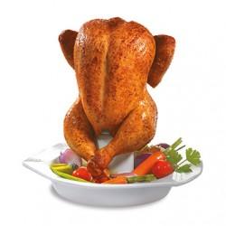 Recipient pentru prepararea puiului- Chicken Roaster Superb