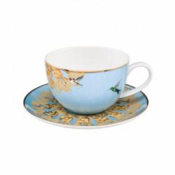 Ceasca ceai cu farfuriuta - Spirograph