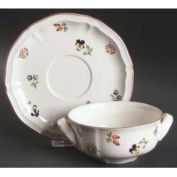 Set ceasca si farfurie supa- Petite Fleur-063871