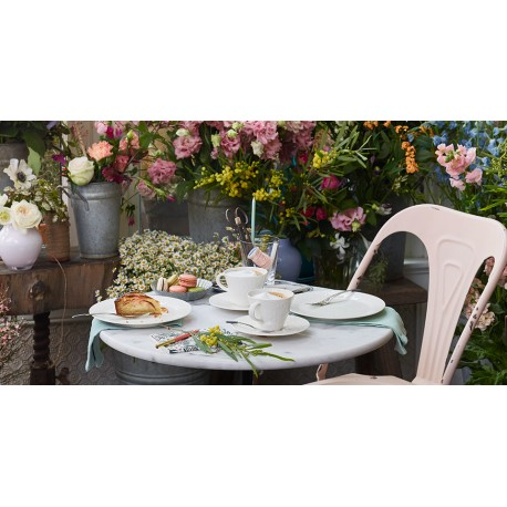 Ceasca cu farfurie cappucciono Floral Touch