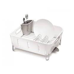 Scurgator plastic pentru vase Compact- alb