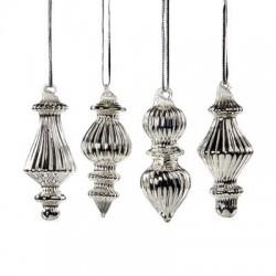 Decoratiune argintie P 13260