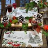 Placemat individual Winter Forest 32 x 42 cm