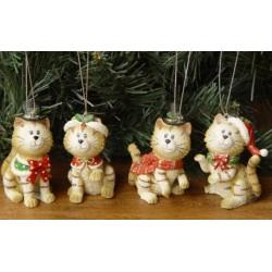 Decoratiune Craciun pisica FYC-45115
