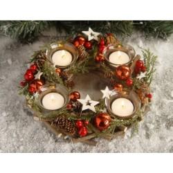 Suport lumanare cu 4 candele NFT-65910