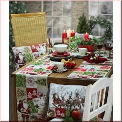 Traversa Santa Claus 21x96 cm