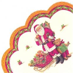 Servetele Santa and Teddy R582400