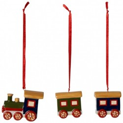 Set 3 piese Nostalgic Ornaments Train