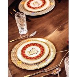 Farfurie desert 16 cm Samarkand rubin