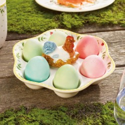Suport oua- Spring Awakening egg plate Rooster