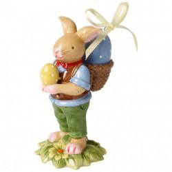 Decoratiune paste Bunny boy with basket