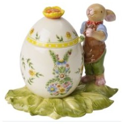 Decoratiune paste Box easter egg bunny boy