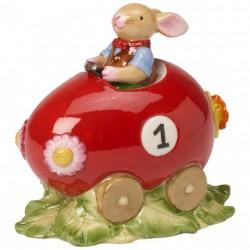 Decoratiune paste egg car