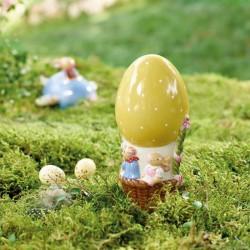 Decoratiune paste Egg-hot air balloon