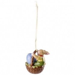 Decoratiune paste Bunny family ornament basket bunny boy