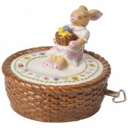 Cutie muzicala de paste Bunny family