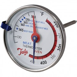 Termometru dual, carne si cuptor 10A14212 TALA