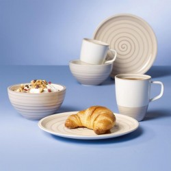 Set breakfast 6 pcs- Artesano Nature Beige