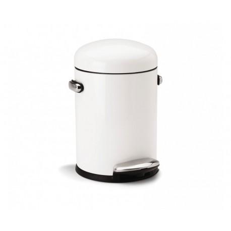 Cos pentru birou Retro White 4.5 L- CW1295CB