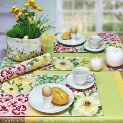 Placemat Individual gobelin 32x48 cm Gloria Patch