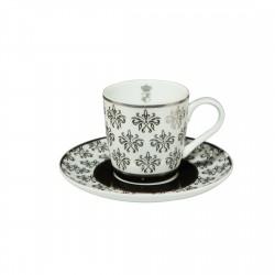 Ceasca espresso cu farfuriuta Chateau Floral 0,10 L