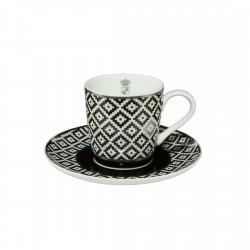 Ceasca espresso cu farfuriuta Diamond