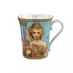 Cana ceai Alhonse Mucha