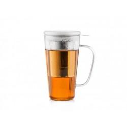 Cana ceai cu filtru si capac Rimini