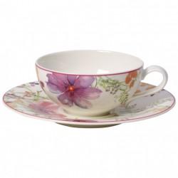 Ceasca ceai cu farfuriuta Mariefleur Basic