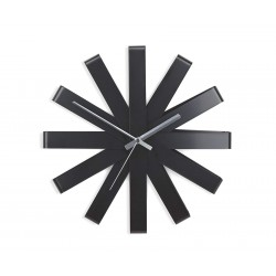 Ceas perete Ribbon negru